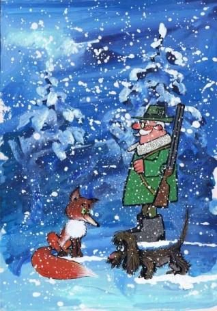 Projekt karty Bożonarodzeniowej (212)