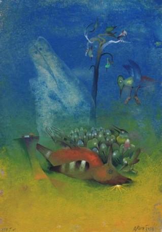 Glob, 1991 r., (ilusracja do