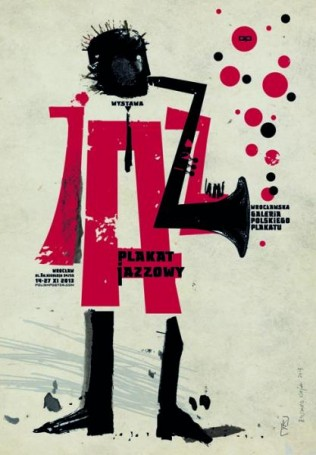 Plakat jazzowy, 2013 r.