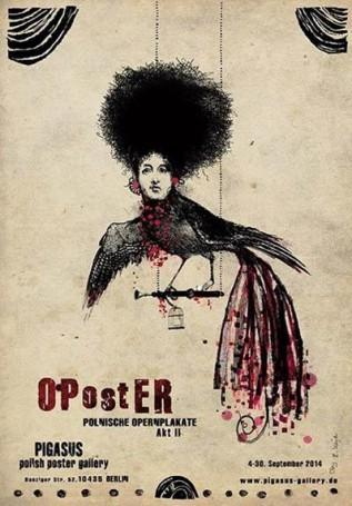 Oposter Polnische Opernplakate, 2013