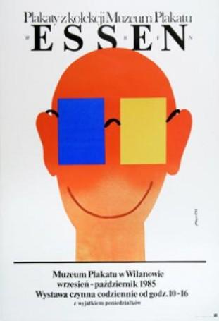 Essen. Muzeum Plakatu wWilanowie,1985 r.
