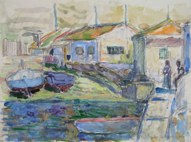 Port rybacki, 1969 r.