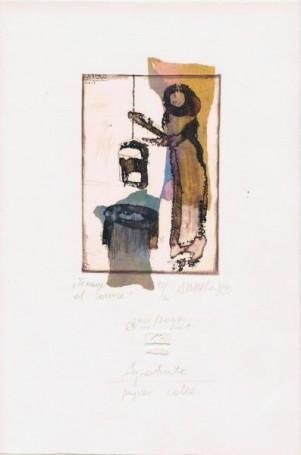 Femme et source 2002/2007