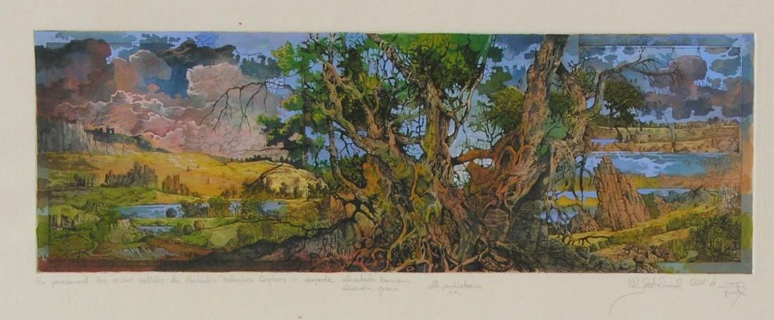 En parcourant des vastes vallees de Hercules Petershon Seghers, 2011 r.