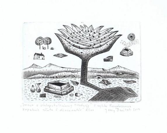 Drzewo zwielopokoleniową tradycją zcyklu:
