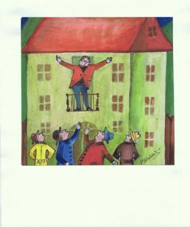 Illustration for the story Mr Hilary