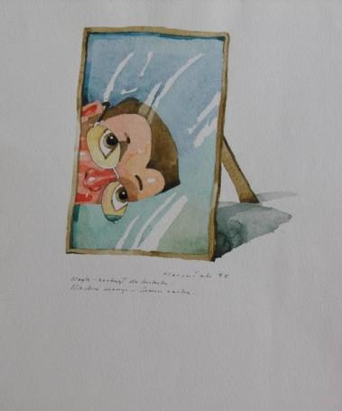 Illustration the Glasses, 1995