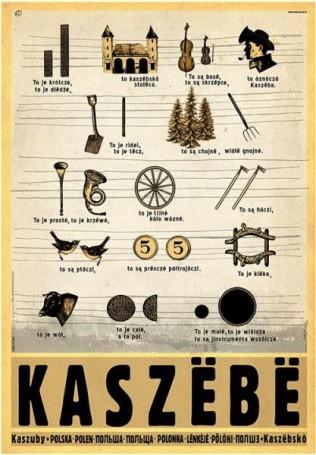 Kaszebe. Alfabet kaszubski zcyklu