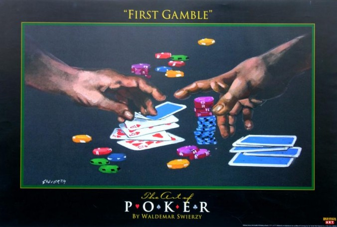 Poker: First Gamble