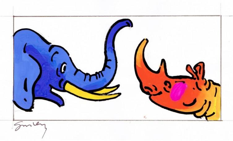 Słoń inosorożec