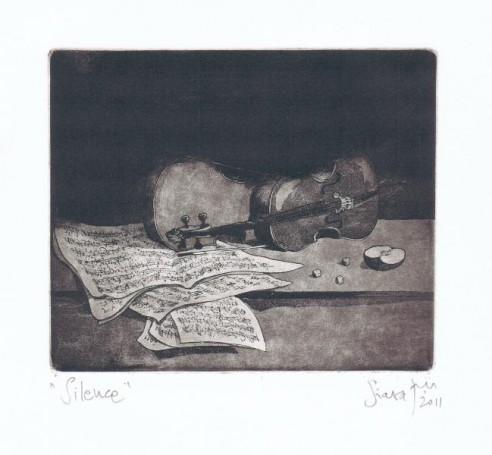 Silence, 2011, Siara Tadeusz