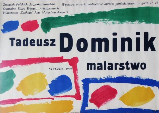 Tadeusz Dominik-malarstwo, Zachęta