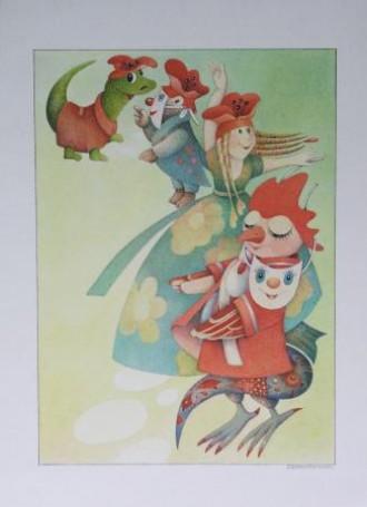 Ilustracja do czasopisma