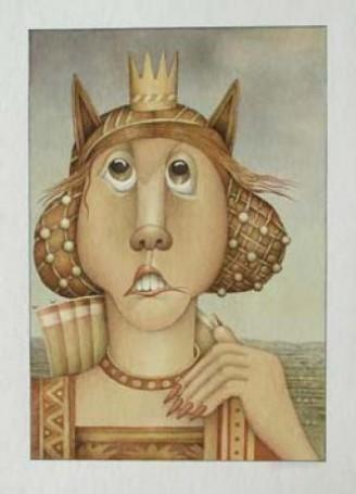 Fairy Tales- Sleeping Beauty- Portrait of stepmother, 1991