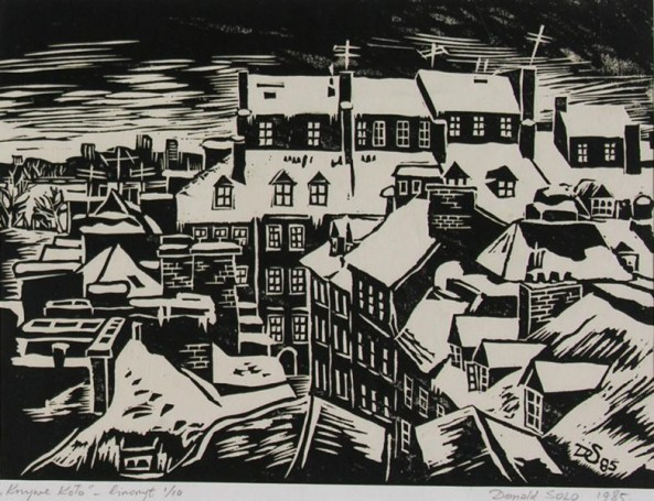 Krzywe Koło, 1985 r., Donald Solo