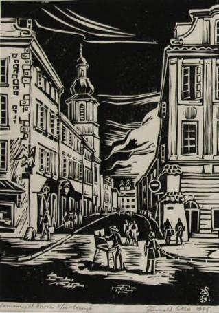 Warszawa, ul. Piwna, 1985 r.