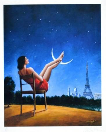 Trzeci wymiar czasu, Paryż