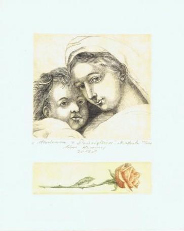Adam Kwaśny, Madonna zDzieciątkiem