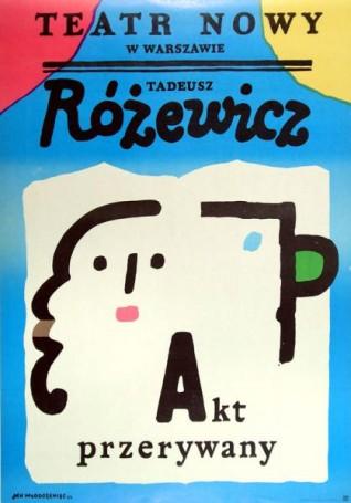 Akt przerywany, 1984 r., T. Różewicz