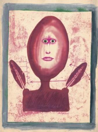 Franciszek Starowieyski, Bez tytułu. Cykl rysunków surrealistycznych, lata 50/60 -te, 100 Pomysłów Na Prezent