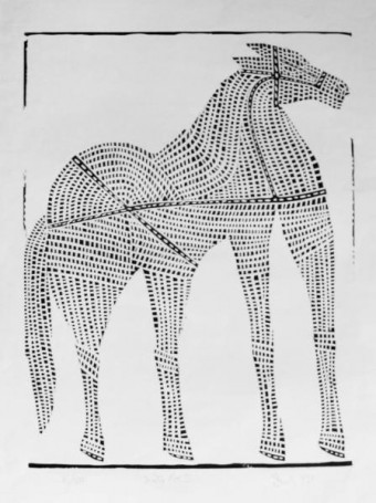 Jerzy Panek, Biały koń, 1959 r., 100 Pomysłów Na Prezent