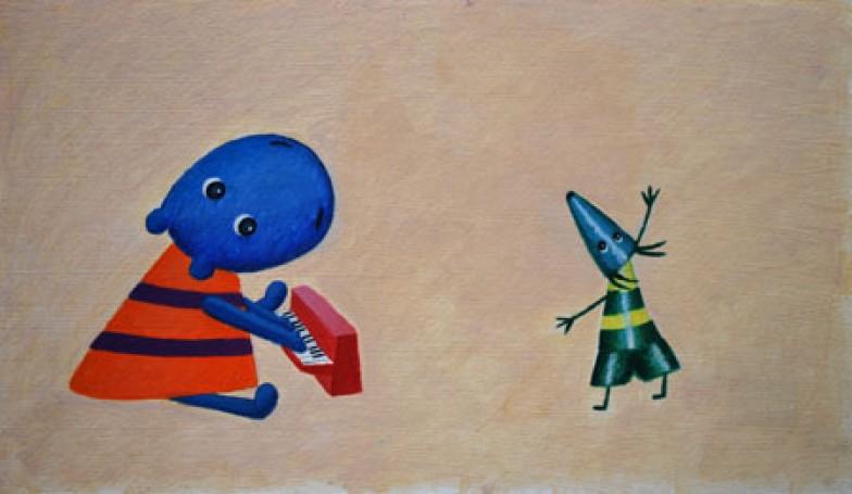 Tomasz Bogacki, Plonk! Plonk! Plonk!, ilustracja, 2006 r.
