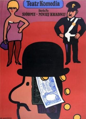Siódme -mniej kradnij, 1979 r., Olga Lipińska