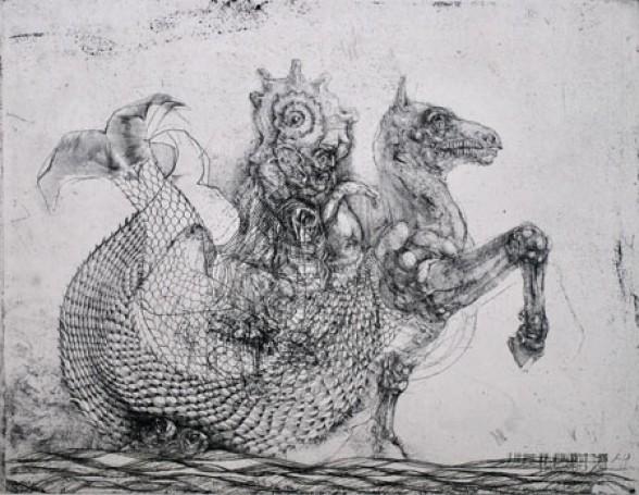 Bożek Kacper, Dziwo morskie, 2000 r., 100 Pomysłów Na Prezent