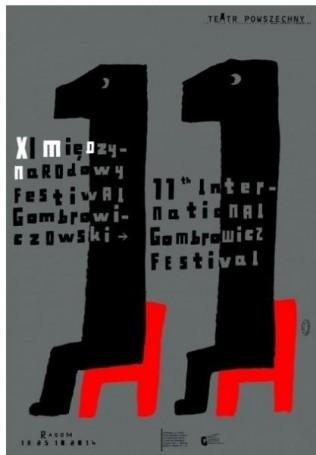 XI Międzynarodowy Festiwal Gombrowiczowski, 2014 r.