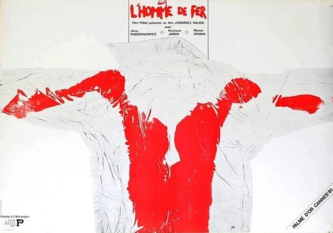 L'Homme de Fer (Człowiek zżelaza), Andrzej Pągowski, 1981 r.