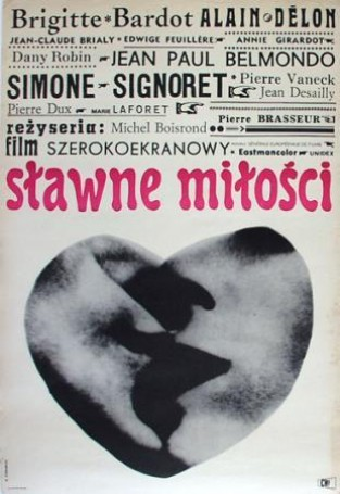 Roman Cieślewicz, Sławne miłości, 1963 r.