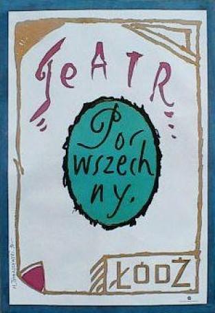 Teatr Powszechny wŁodzi, 1990 r.