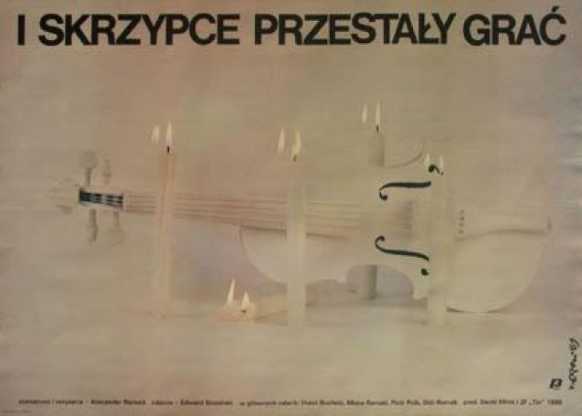 I skrzypce przestały grać, 1989 r.