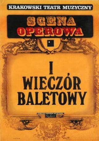 Scena operowa iwieczór baletowy, 1975 r.