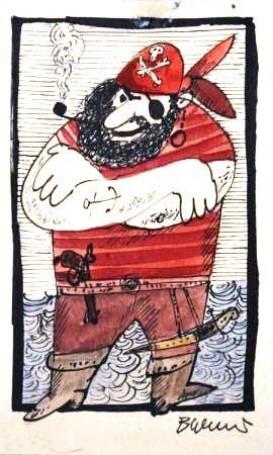 Bohdan Wróblewski, Ilustracja: Opiracie Rum-Barbari io czymś jeszcze (II wydanie), 1974 r.