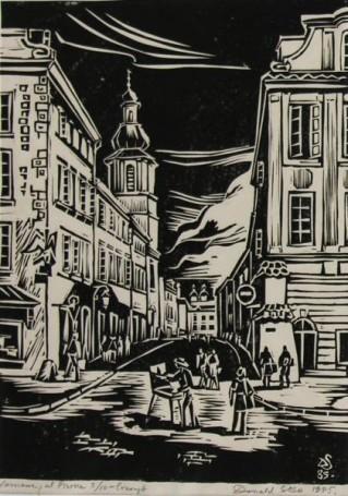 Donald Solo, Warszawa ul. Piwna, 1985 r.