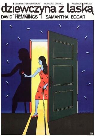Dziewczyna zlaską, 1975 r.