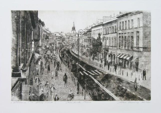 Adam Kwaśny, Warszawa -ul. Nowy Świat, 2012 r., 100 Pomysłów Na Prezent 500 -2000 zł