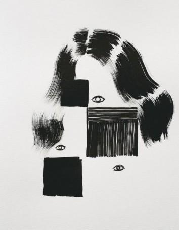 Agata Bogacka, Composition with Eyes 1, 2016