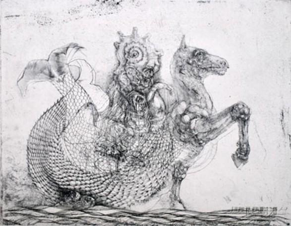 Kacper Bozek, Dziwo morskie, 2000