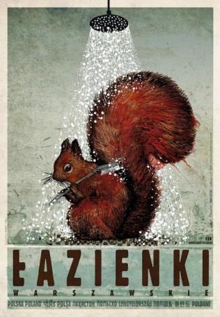 """Łazienki Warszawskie, zcyklu """"Polska"""", 2017 r., Ryszard Kaja"""