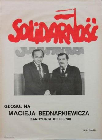Głosuj na Macieja Bednarkiewicza