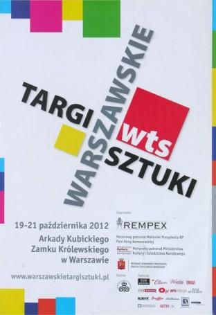 Warszawskie Targi Sztuki, 2012 r.