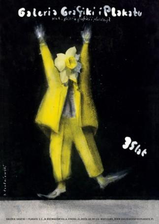 Jerzy Czerniawski, 35 lat Galerii Grafiki iPlakatu, WARSAW BY ART 22-24.09.2017 r. Plakat za 10 zł