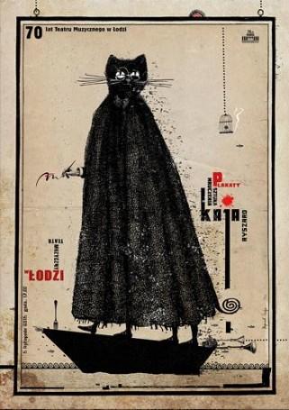 Sztuka mruczenia. Ryszard Kaja plakaty. Wystawa, 2015 r.