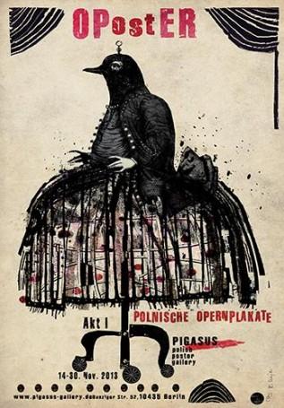 OPostER polski plakat operowy, 2013 r.