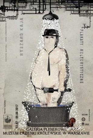 Ryszard Kaja Plakaty kulturystyczne, 2016 r., wystawa