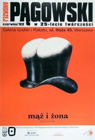 Mąż iŻona. Andrzej Pągowski w25 lecie twórczości, 2002 r.