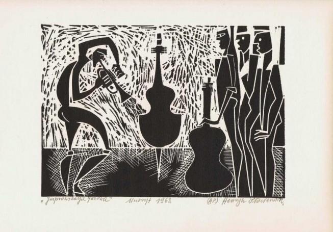 Improwizacja jazzowa, 1963 r.