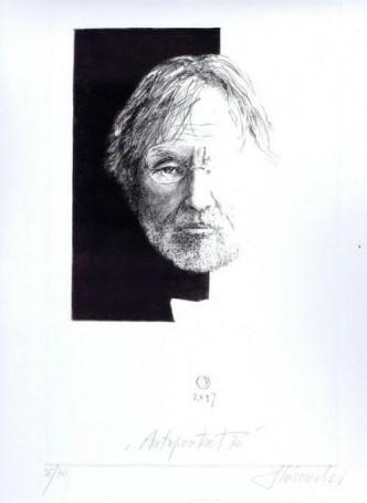 Autoportret, Krzysztof Skórczewski